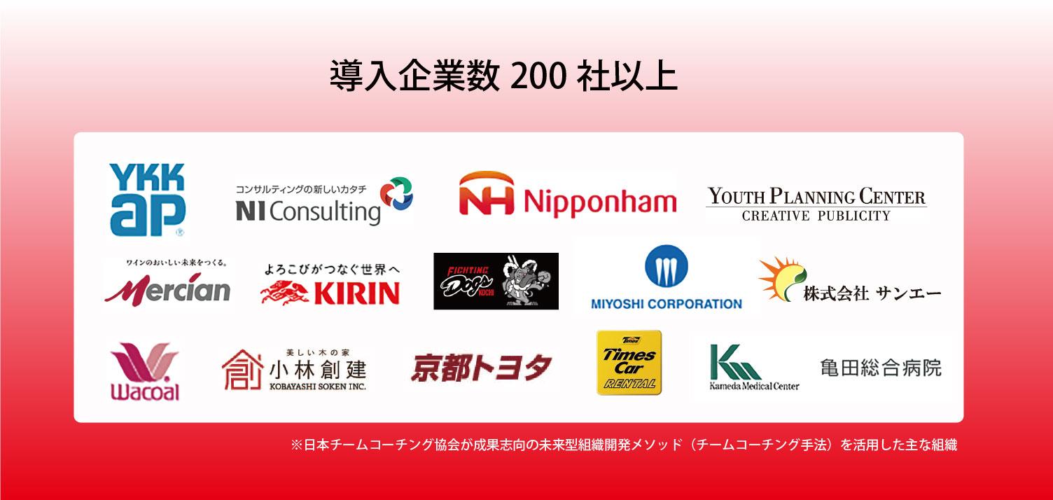 導入企業数200社以上